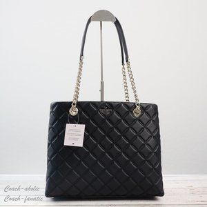 NWT Kate Spade Natalia Quilted Smooth Leather Tote